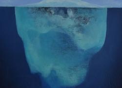 Sous les apparences - Acrylique sur toile - 50x61 - 2019 - Vendu