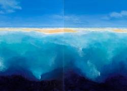 L'Océan - Acrylique sur toile - 200x100 (Diptyque) - 2018